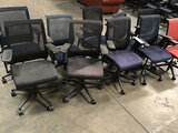 10 office chairs (Used) NOTE: This unit is being sold AS IS/WHERE IS via Timed Auction and is locate
