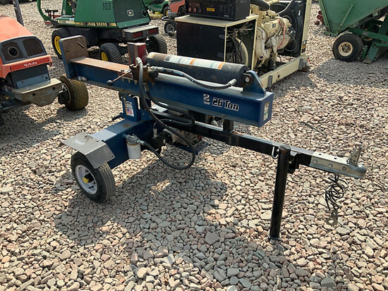 Brave 26-Ton Hydraulic Log Splitter No Title