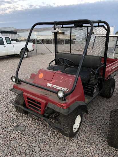 1996 Kawasaki Mule Yard Cart Not Running, Condition Unknown) (No Title