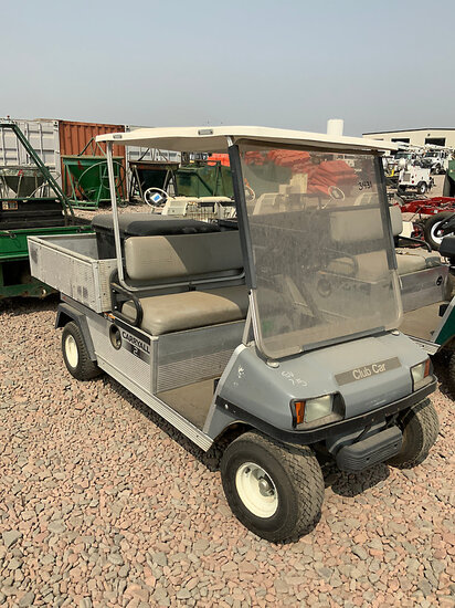 2007 Club Car Carry-All 2 Plus Golf Cart Not Running, Condition Unknown