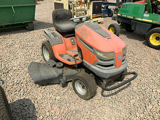 Husqvarna LGT2654 RIding Mower Not Running, Condition Unknown