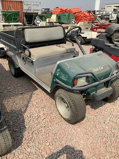 2008 Club Car XRT900 Yard Cart Runs & Moves) (No Title
