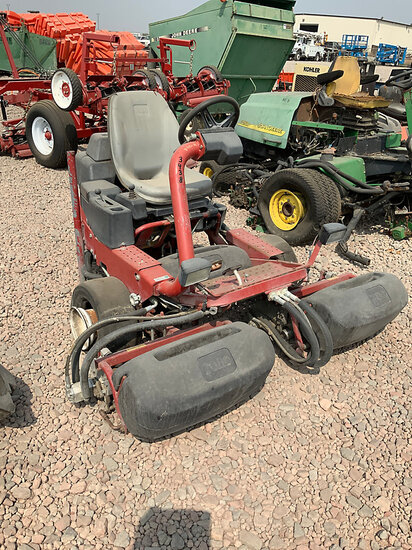 2011 Toro GR3150 Riding 3-Reel Mower Not Running, Condition Unknown