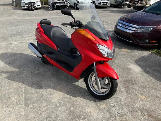 2008 Yamaha Majesty Motor Scooter Runs & Drives