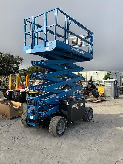2019 Genie GS4069 Self-Propelled Scissor Lift Moves & Operates