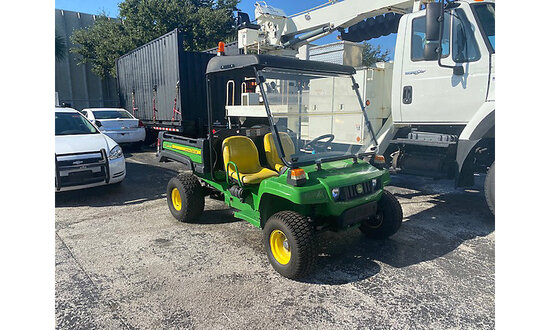 2016 John Deere Gator TX Utility Cart Bad Shift Linkage - Starts In Reverse, Broken Throttle