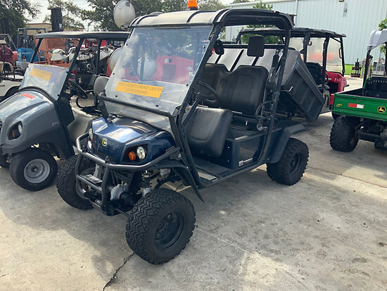 Cushman Hauler 4x4 Utility Cart Bad Ignition Switch, No Battery, Runs & Moves