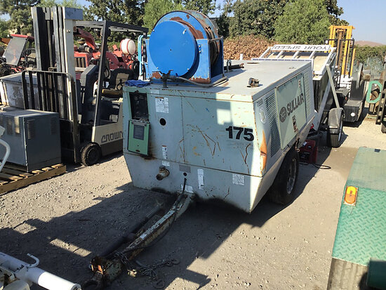 1994 SULLAIR 175Q Portable Air Compressor conditions unknown may be subject to arb regulations