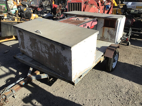 1999 KIT Trailer with Honda Generator S/A Tagalong Trailer