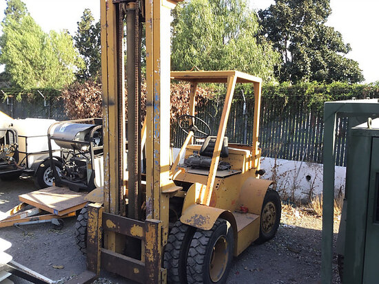1952 Ross Forklift Bad starter, keyless