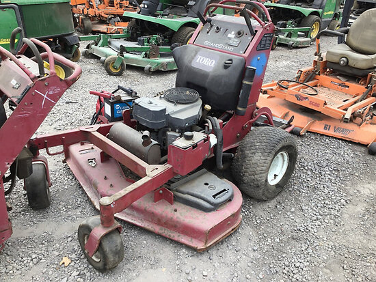 Toro Grandstand Lawn Mower No key, running conditions unknown, Bill of Sale Only