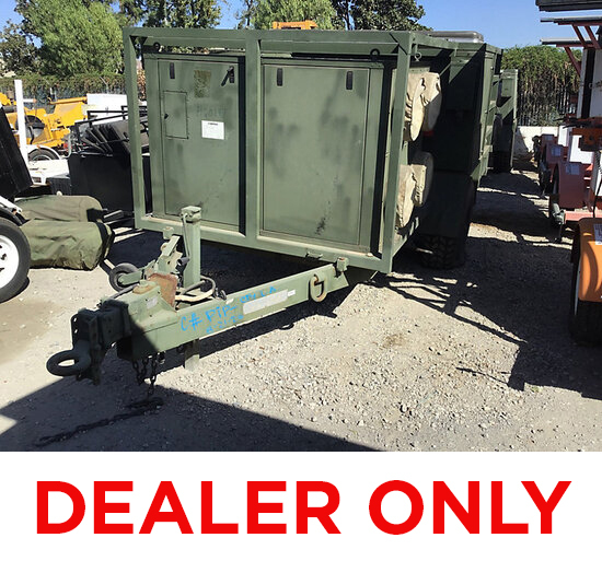 2005 Enviromental Trailer Enclosed Portable Generator DEALER'S ONLY, NO RETAIL BUYERS, Bill of Sale