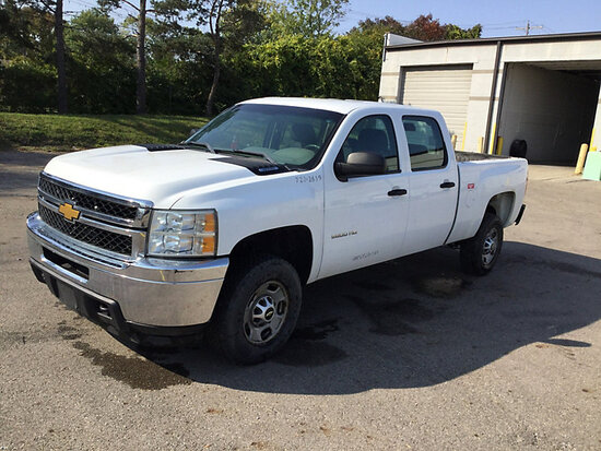 2012 Chevrolet K2500HD 4x4 Crew-Cab Pickup Truck runs & moves