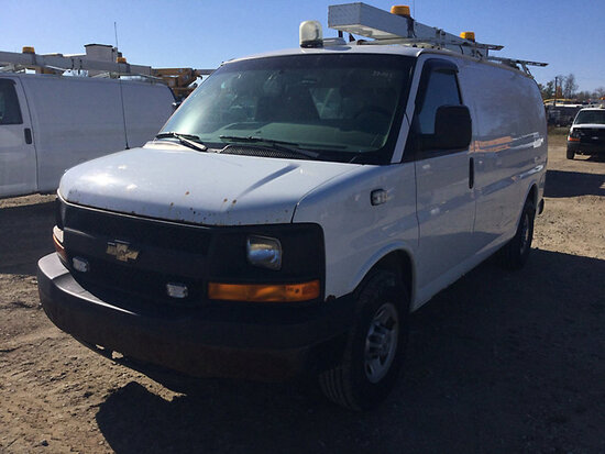 2008 Chevrolet G3500 Cargo Van Runs & Moves