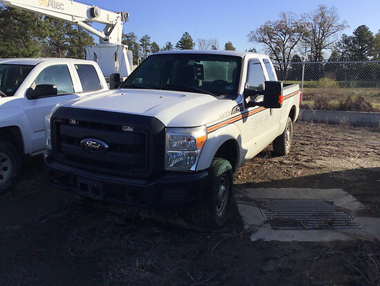 2012 Ford F250 4x4 Extended-Cab Pickup Truck Not Running, Condition Unknown, cranks, major transfer