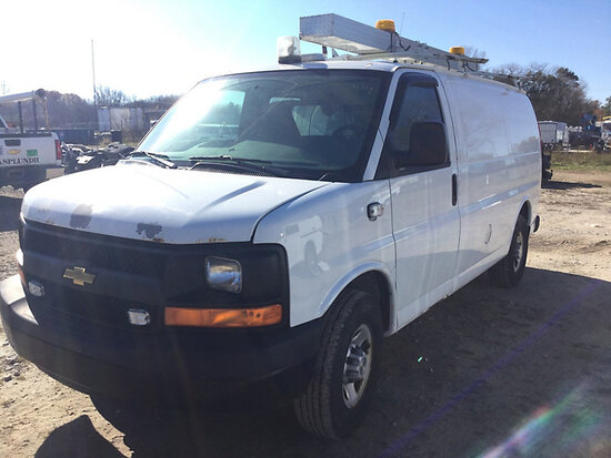 2008 Chevrolet G3500 Cargo Van Runs & Moves, Bad Alternator