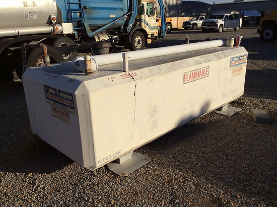 ConVault 500 gallon fuel tank NOTE: This unit is being sold AS IS/WHERE IS via Timed Auction and is