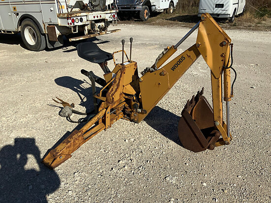 Woods BH750-3 Backhoe Attachment Unknown operating condition