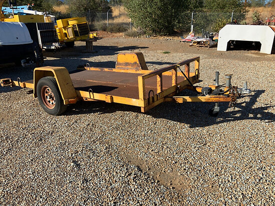 1993 Norcal S/A Tilt Top Support Trailer