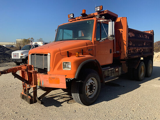 2001 Freightliner FL80 T/A Dump Truck Not Running, Power to Dash, Does Not Crank,  Operating Conditi