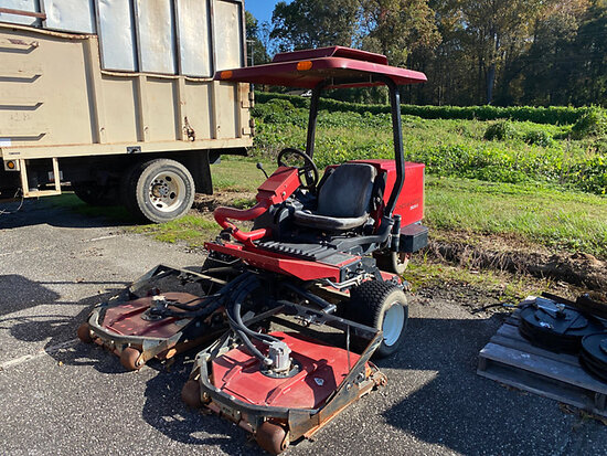 2009 Toro 3505D Grounds Master Riding Mower Not Running, Condition Unknown