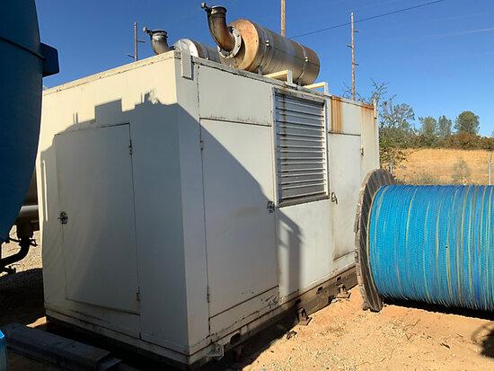 Enclosed Portable Generator runs & operates