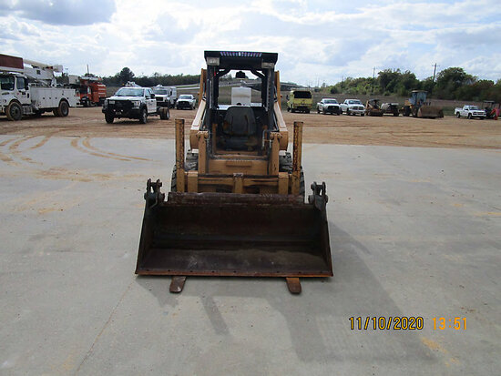 1996 Case 1840 Rubber Tired Skid Steer Loader runs, moves & operates