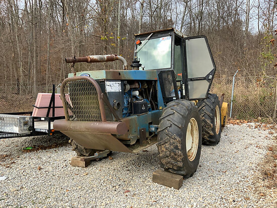 1992 Ford 9030 4x4 Utility Tractor not running, condition unknown