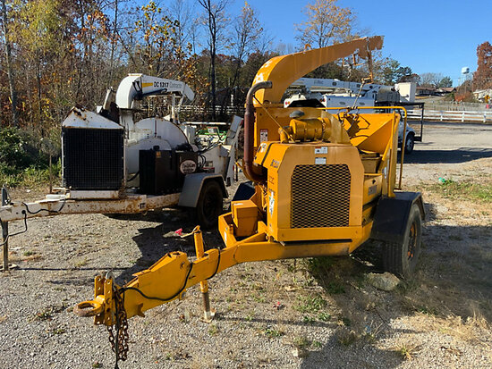 """1996 Vermeer BC1230 Chipper (12"""" Disc), trailer mtd No Title, not running, condition unknown"""
