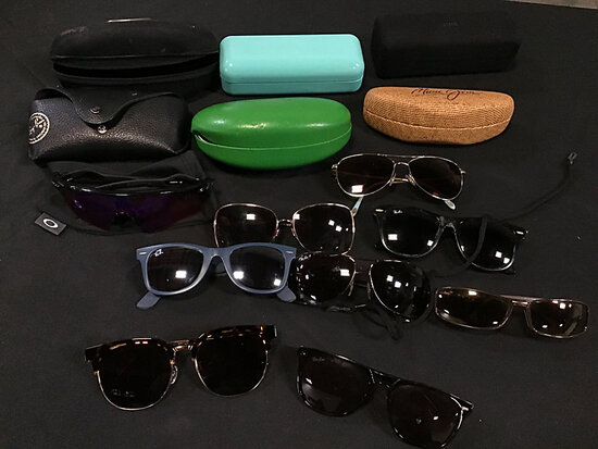 Assorted sunglasses (Used | authenticity unknown ) NOTE: This unit is being sold AS IS/WHERE IS via