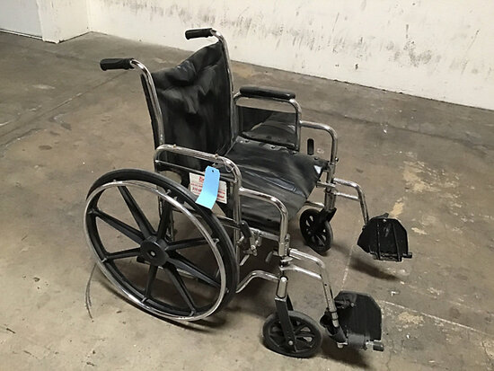 Wheelchair (Used) NOTE: This unit is being sold AS IS/WHERE IS via Timed Auction and is located in E