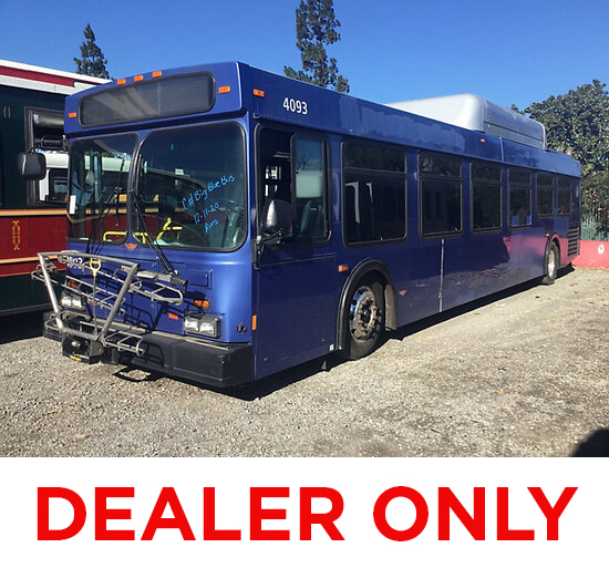 2005 New Flyer L40LF Bus DEALER ONLY! No Retail Buyers ! runs & moves