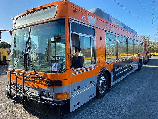 2001 NABI 40LFW-18 Passenger Bus DISMANTLER ONLY!  Junk receipt in transit, 7878 Telegraph Rd, Downe