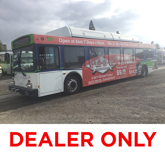 2003 New Flyer C40LF Bus DEALER ONLY! NO RETAIL BUYERS! runs & moves, needs repairs, abs light on, c