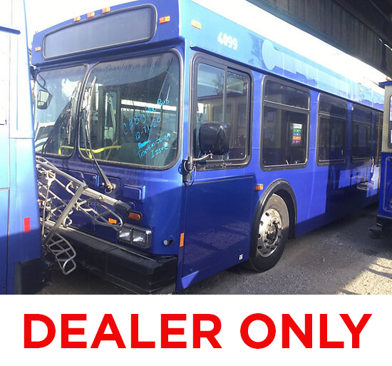 2005 New Flyer L40LF Bus DEALER ONLY! NO RETAIL BUYERS! non runner, needs transmission work aluminum
