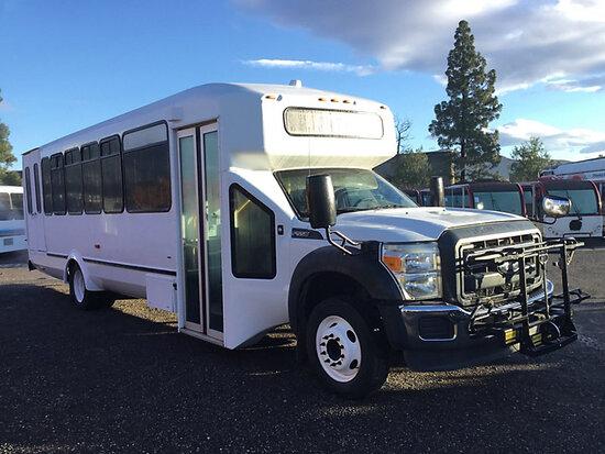 2016 Ford Aero Elite Passenger Bus runs & moves, has key