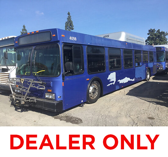 2005 New Flyer L40LF Bus DEALER ONLY! NO RETAIL BUYERS! non runner, out of fuel aluminum wheels