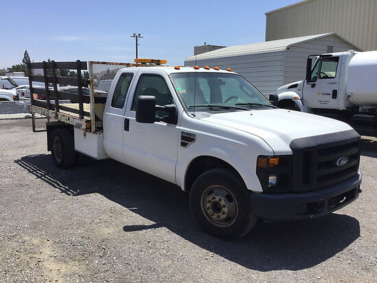 2008 Ford F350 Service Truck Runs and moves, paint damage, corrosion damage, may be subject to arb r