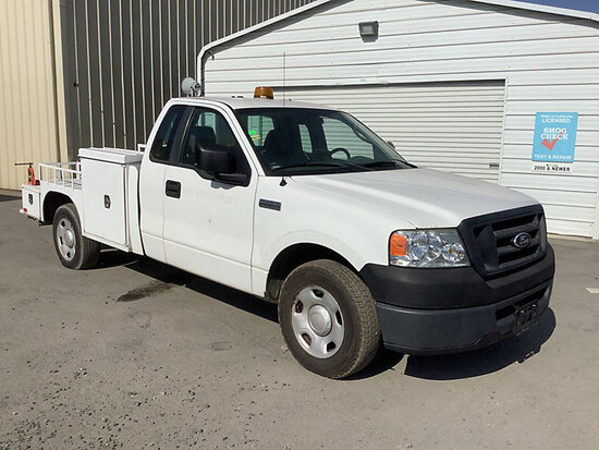 2007 Ford F150 Service Truck Runs and moves