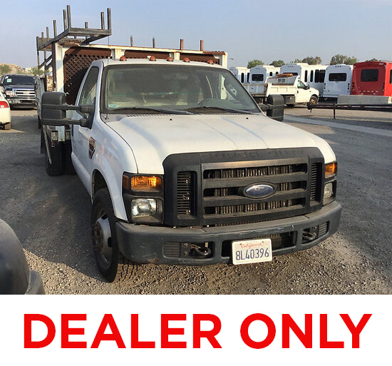 2008 Ford F350 Stake Truck DEALER ONLY! NO RETAIL BUYERS! may be subject to arb regulations, not run