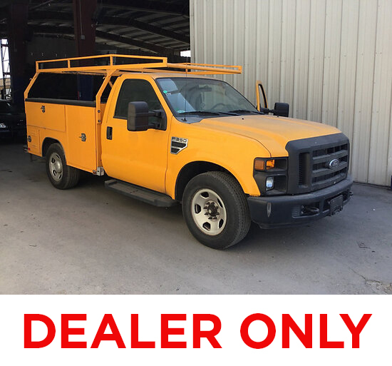 2009 Ford F350 Service Truck DEALER ONLY! NO RETAIL BUYERS! Runs and moves, missing catalytic conver