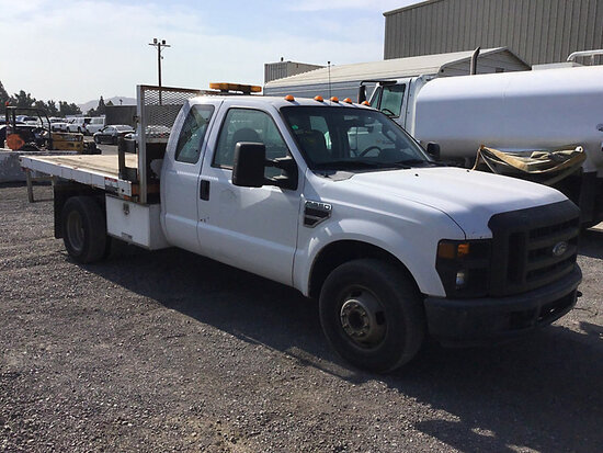 2008 Ford F350 Service Truck May be subject to arb regulations, runs and moves, paint damage, corros