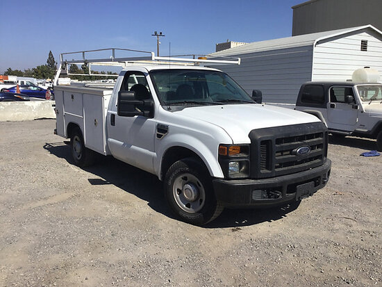 2008 Ford F250 Service Truck Runs and moves