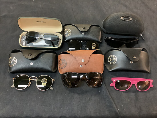 6 sunglasses authenticity unknown (Used ) NOTE: This unit is being sold AS IS/WHERE IS via Timed Auc
