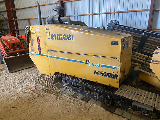 (Aurora, CO) 2007 Vermeer Navigator D24x40A Directional Boring Machine, Comes with locator Digital C