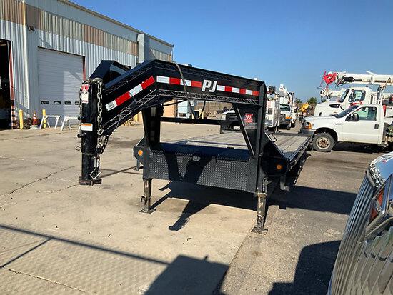 (Aurora, CO) 2019 PJ Trailers FS252 7-Ton T/A Goose Neck Equipment Trailer Towable