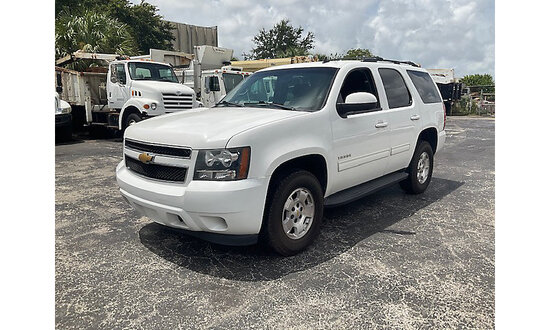 (West Palm Beach, FL) 2013 Chevrolet Tahoe LS 4x4 4-Door Sport Utility Vehicle Runs and moves