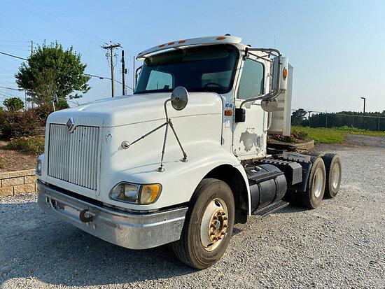 (Villa Rica, GA) 2002 International 9100i T/A Truck Tractor Runs & Moves) (Body Damage