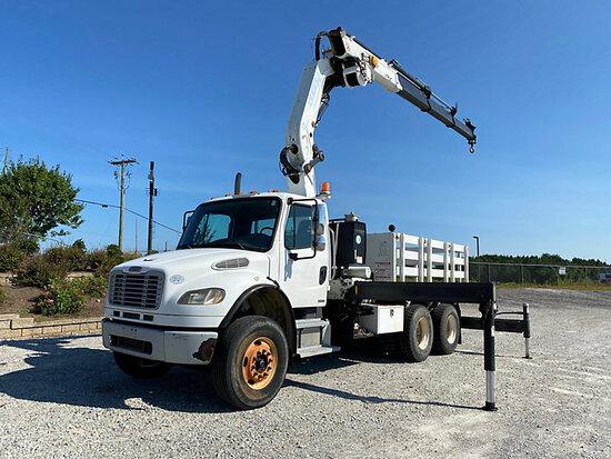 (Villa Rica, GA) Effer 310.11/3s, Knuckleboom Crane mounted behind cab on 2009 Freightliner M2 106 T
