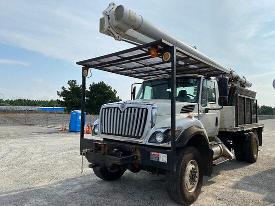 (Villa Rica, GA) Altec LRV-57, Over-Center Bucket Truck center mounted on 2012 International 7300 4x